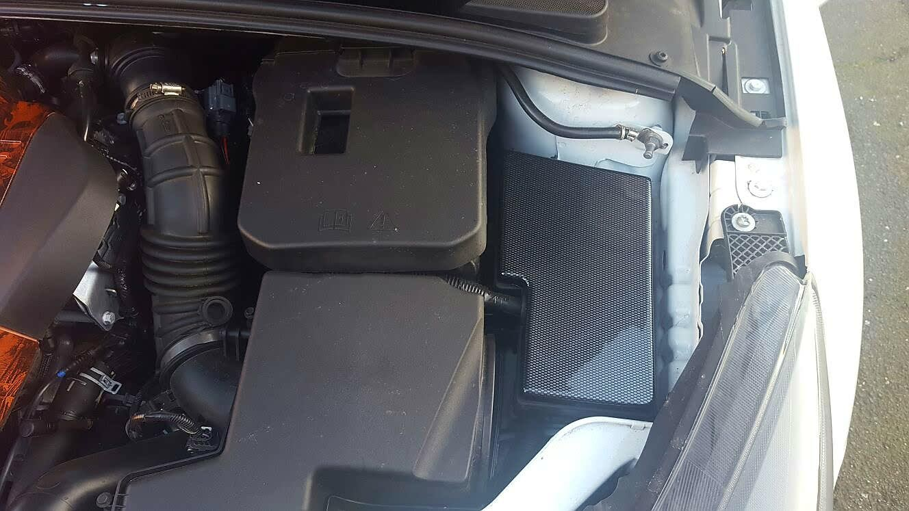 Ford Focus St Fuse Box Cover Wiring Diagram Will Be A Thing 2003 Mk3 Engine Bay Carbon Effect Set Coolant 2000