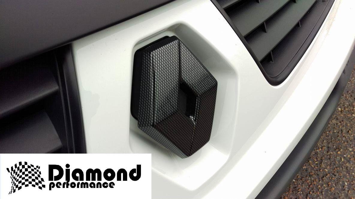 Renault Trafic 2006 2014 Facelift Carbon Fibre Effect Front Grille Under Bonnet Fuse Box